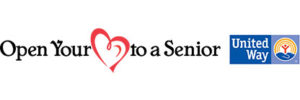 Open your heart to a senior. United way.